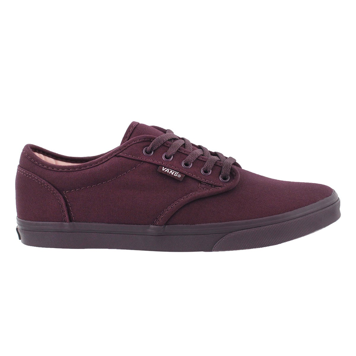 Lds Atwood Low fig lace up sneaker