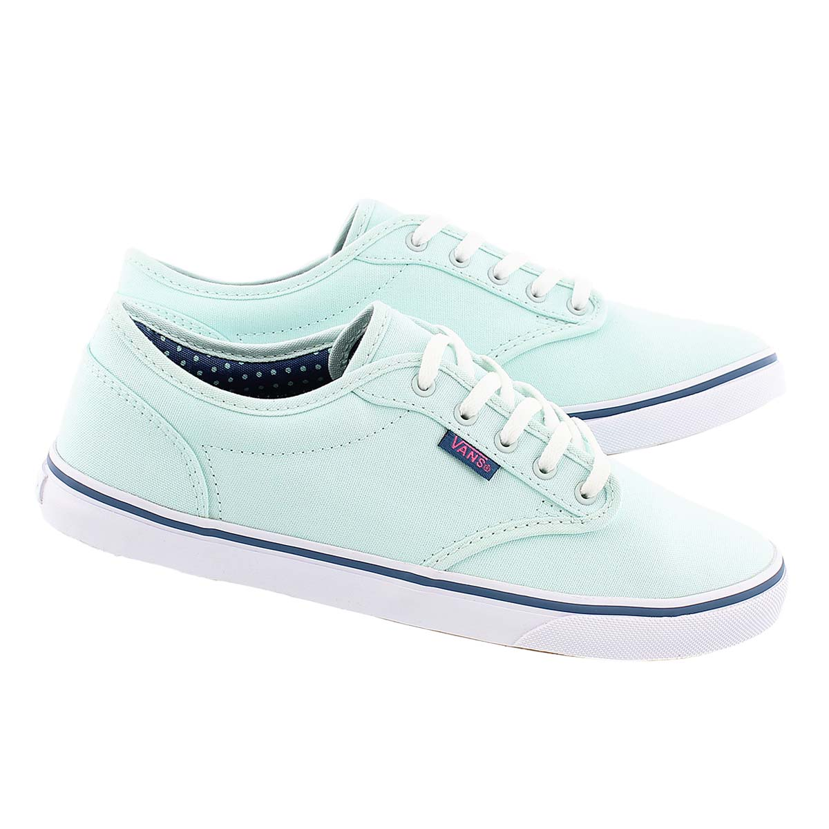 Lds Atwood Low sea green lace up sneaker