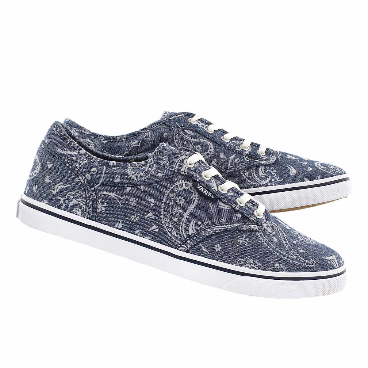 Lds Atwood Low bandana prt laceup snkr