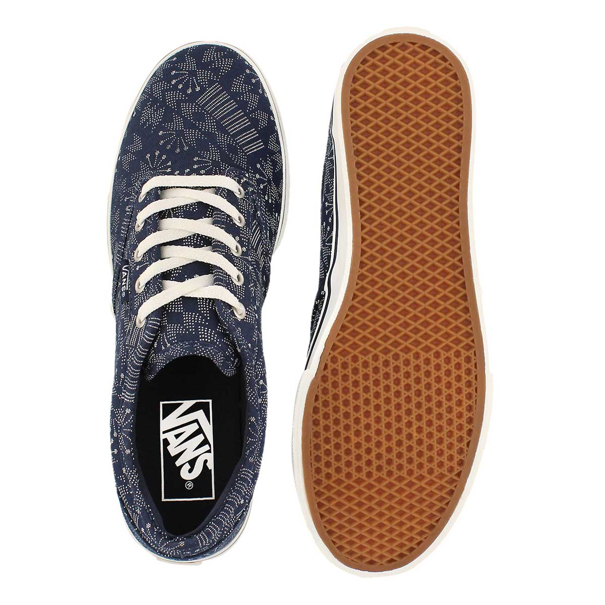 Lds Atwood Low indigo prt laceup sneaker