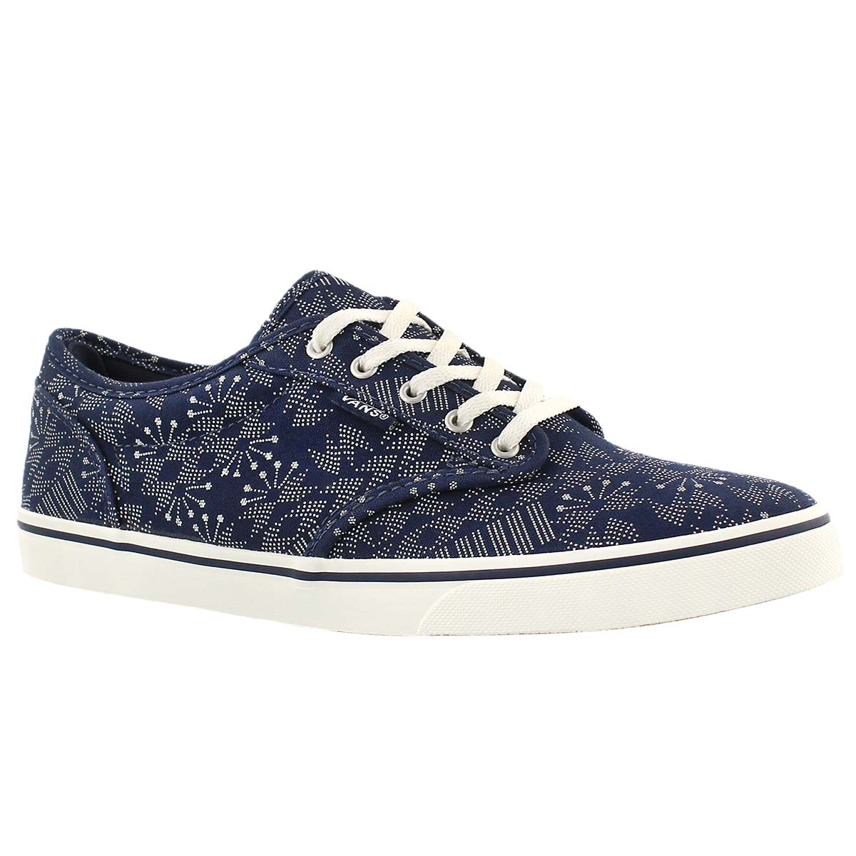 Women's ATWOOD LOW indigo print laceup sneakers