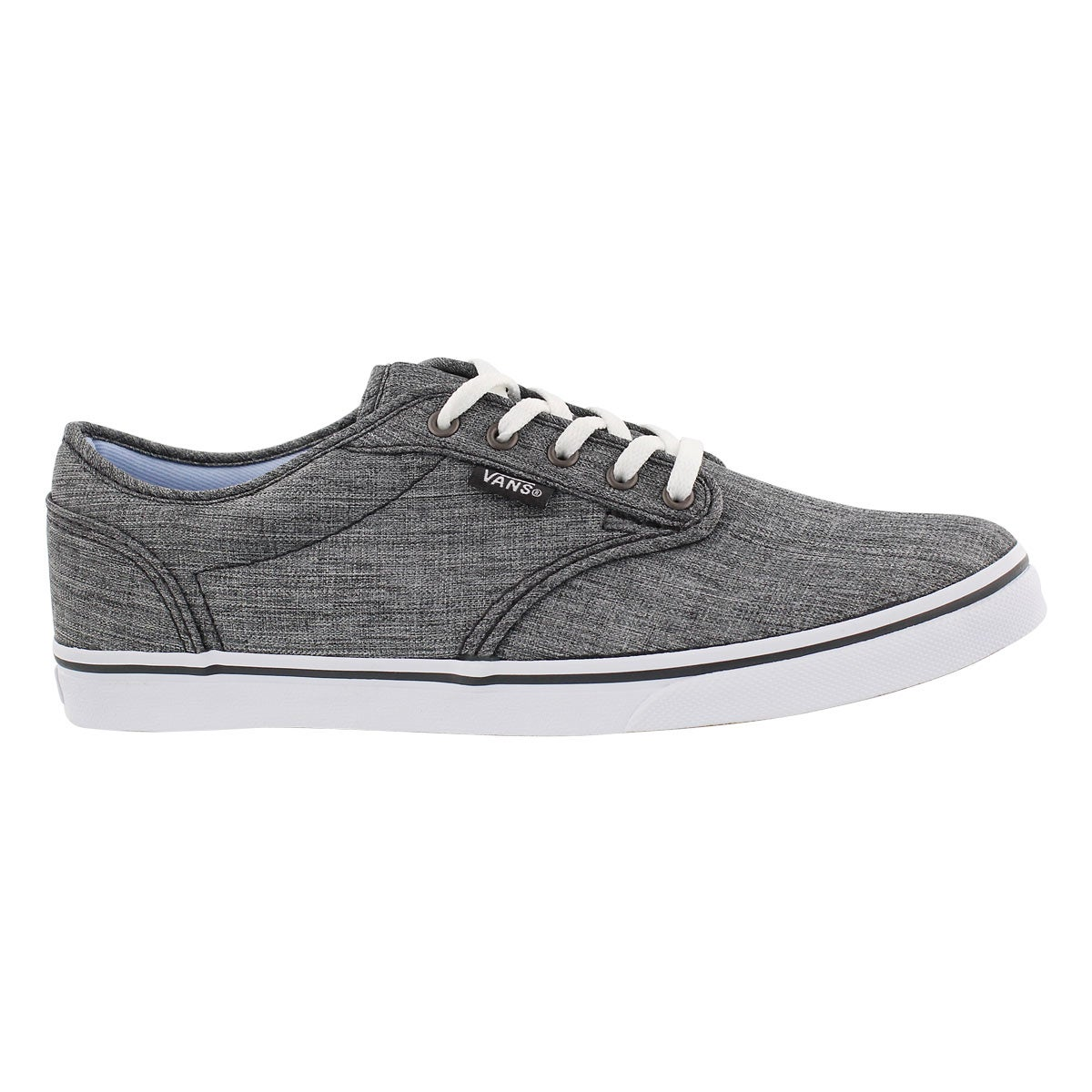 Lds Atwood Low textile gry laceup snkr