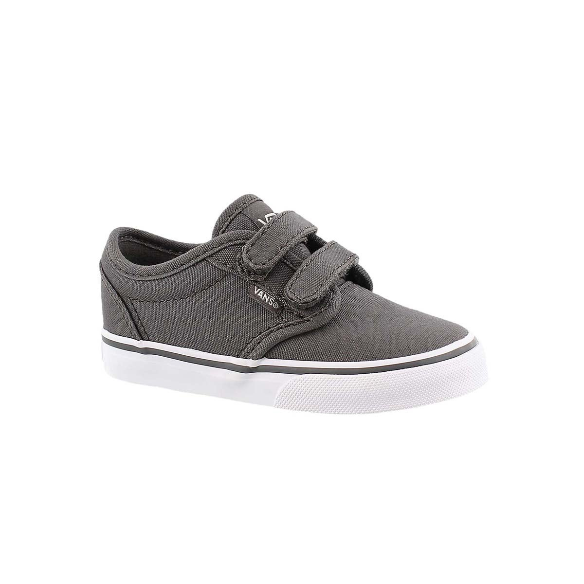 Infs-b Atwood pewter canvas sneaker