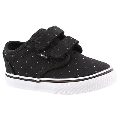 Vans Infants' ATWOOD black studded sneakers