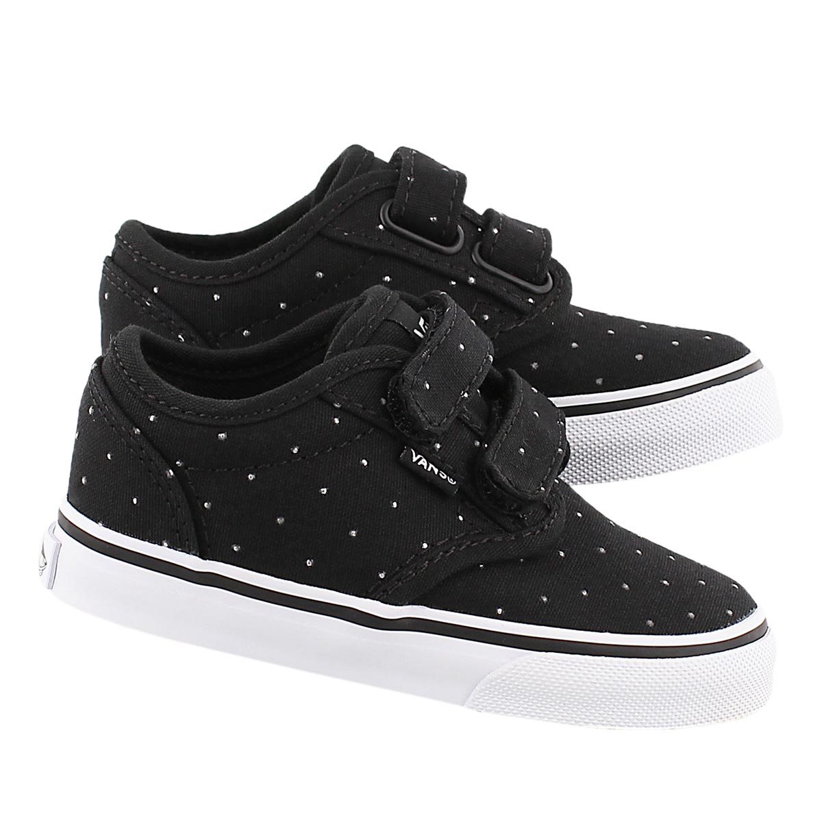 Infs Atwood blk studded sneaker