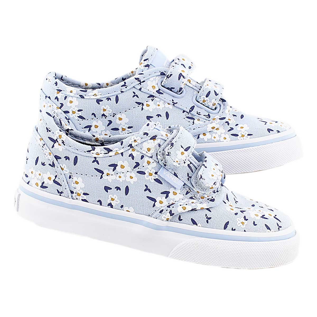 Infs Atwood blue floral print sneaker