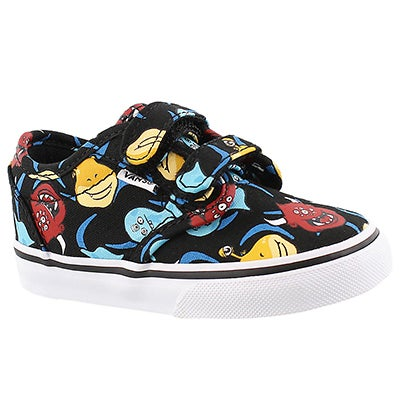 Vans Infants' ATWOOD monster print canvas sneakers