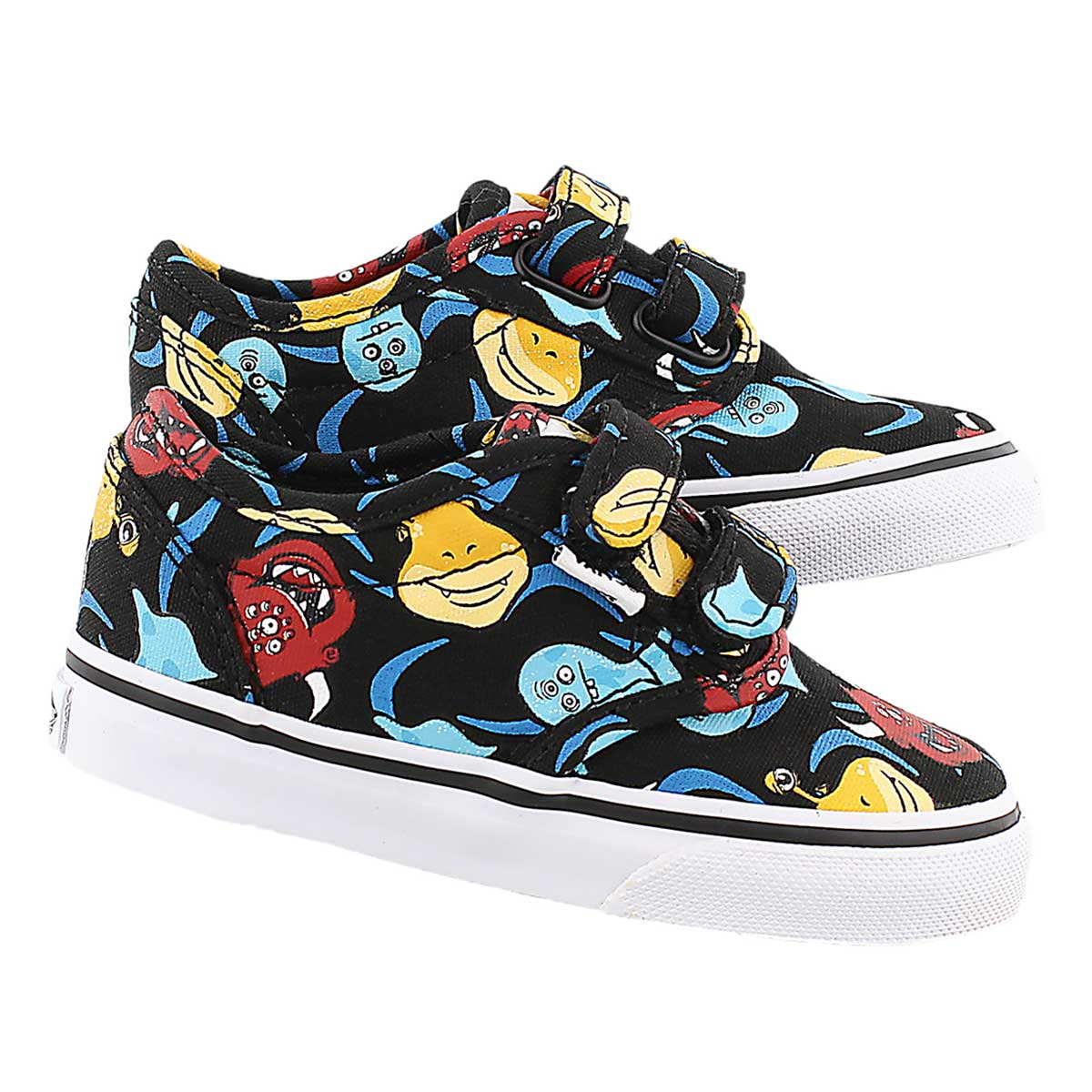Infs Atwood monster print canvas sneaker