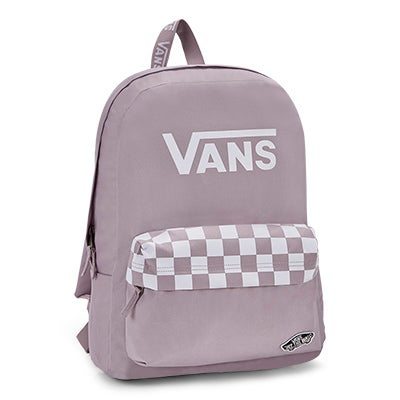 Vans Sporty Realm sea fog/white backpack