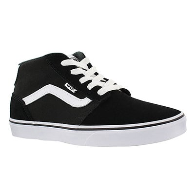 Vans Men's CHAPMAN MID black/white sneaker