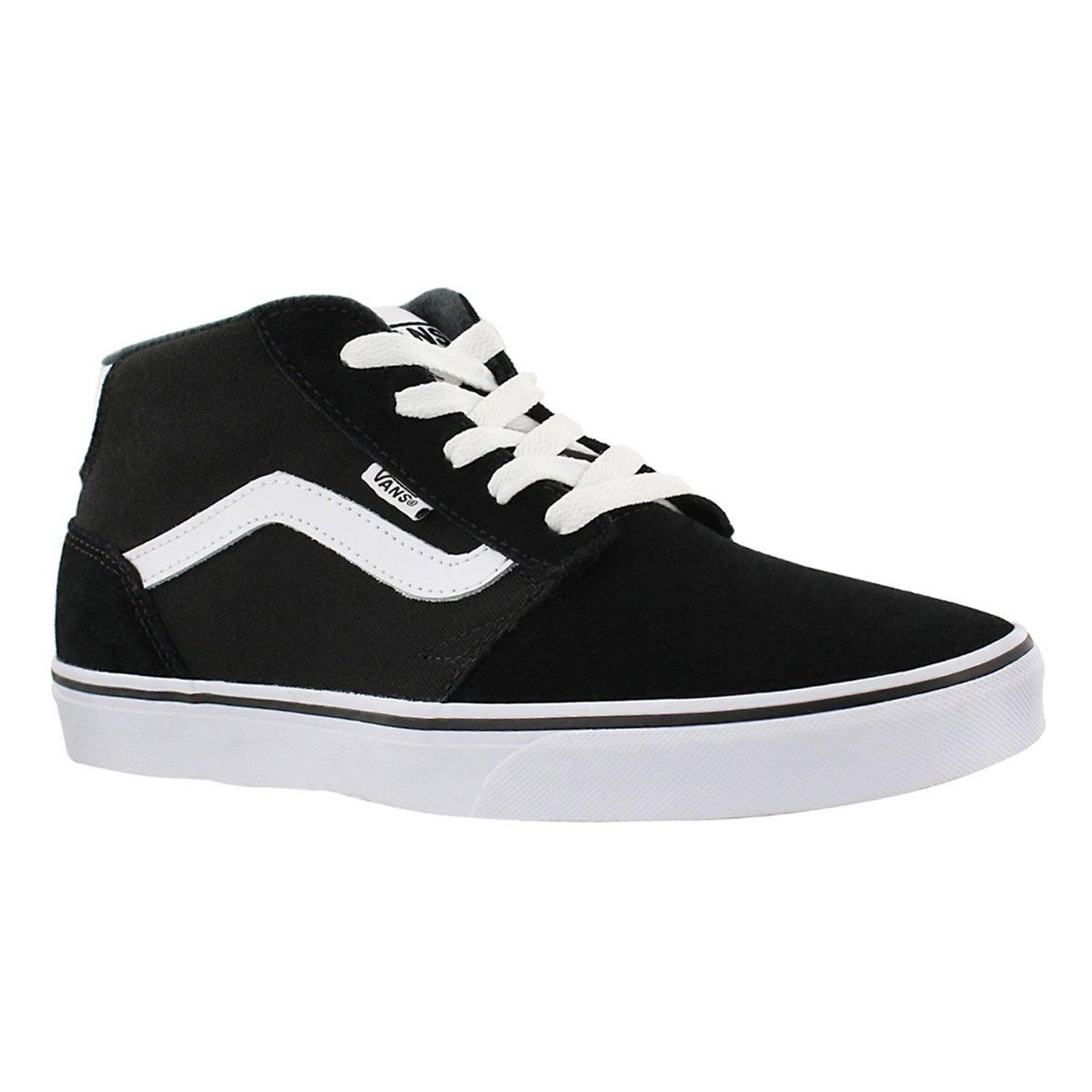 Mns Chapman Mid black/white sneaker