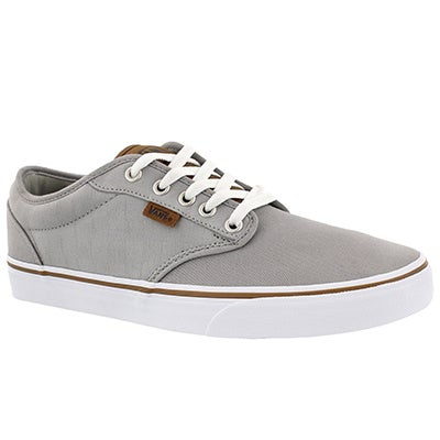 Mns Atwood grey checkered laceup sneaker