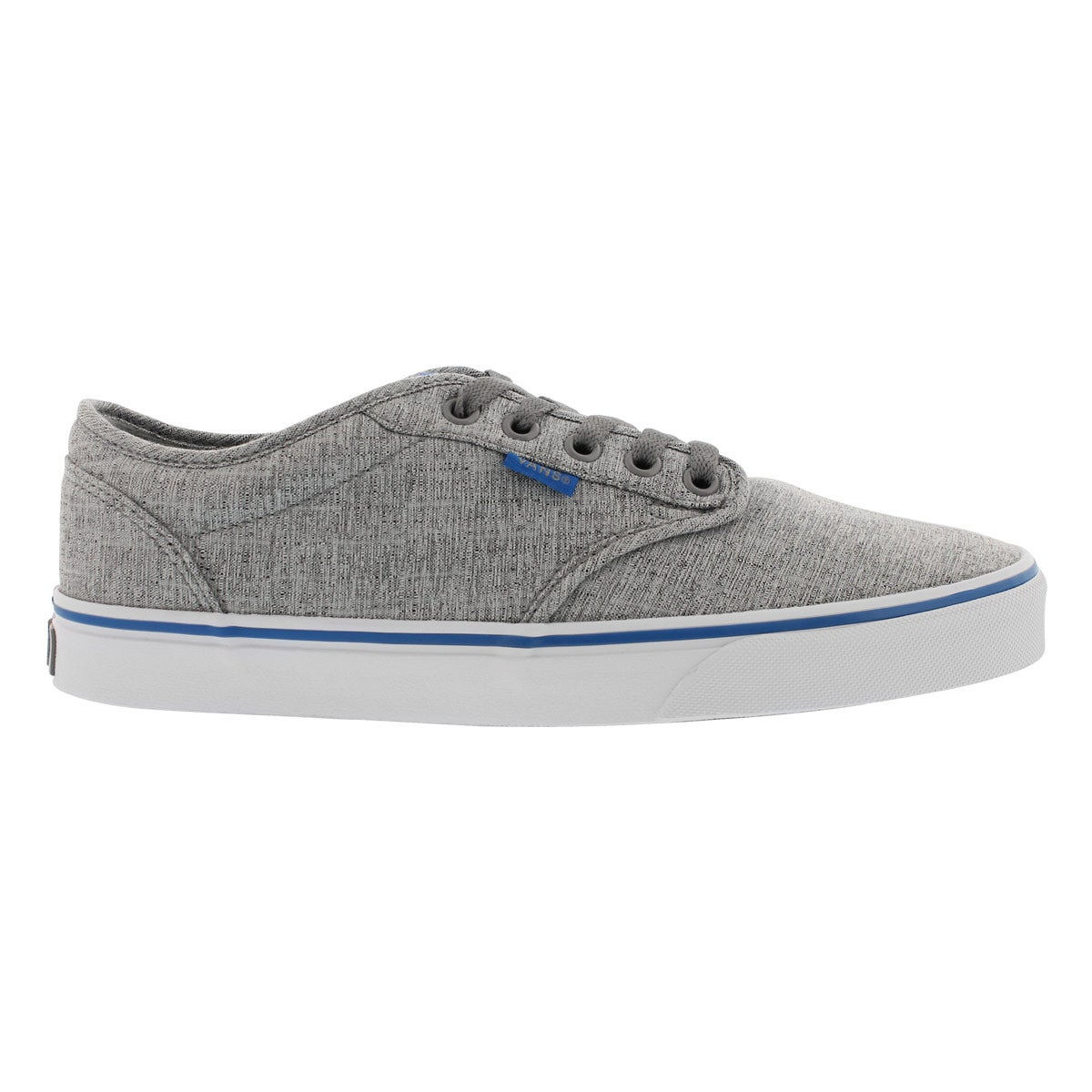 Mns Atwood grey textile lace up sneaker