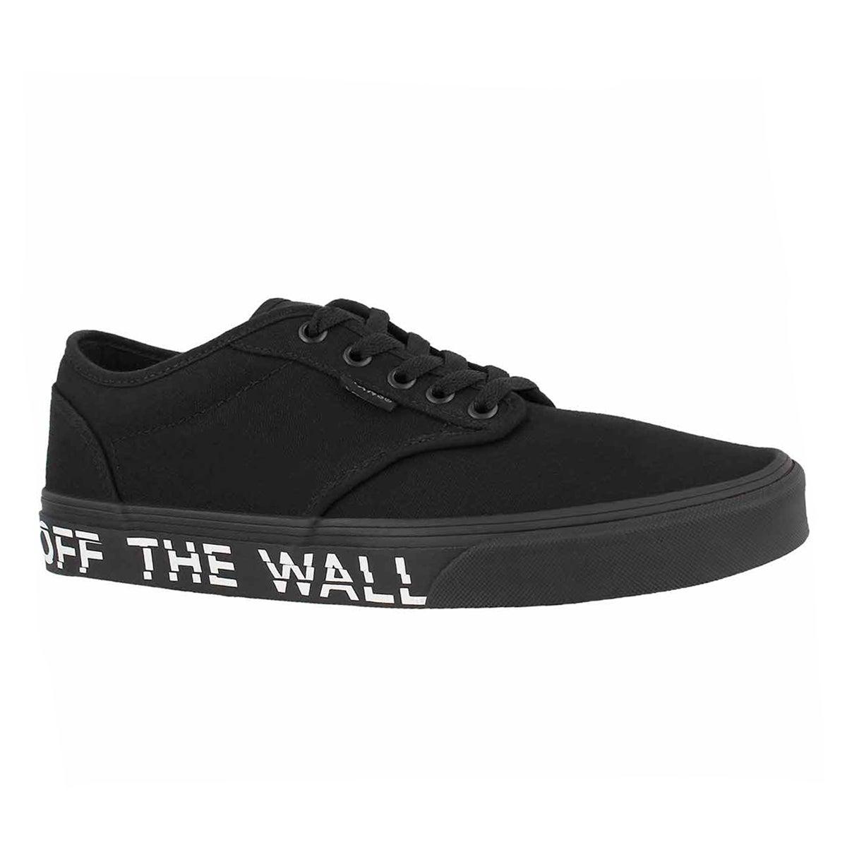 Men's ATWOOD printed fox blk/blk sneakers