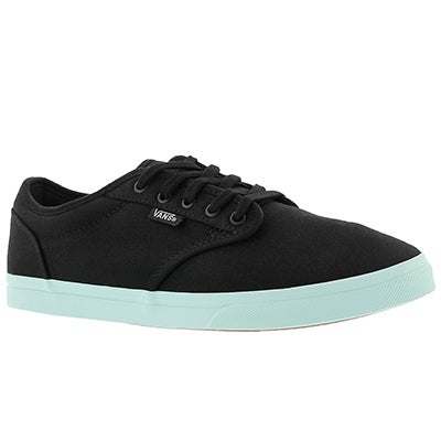 Vans Women's ATWOOD LOW black/sea lace up sneakers