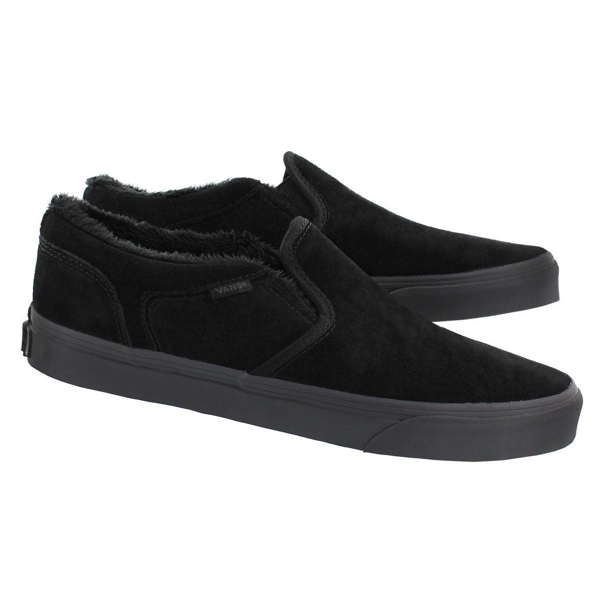 Mns Asher MTE blk/gry slipon sneaker