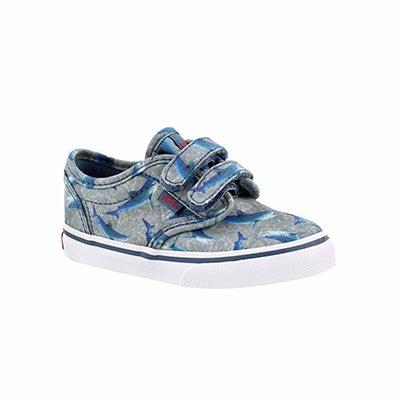 Infs-b Atwood blu shrks cnvs sneaker