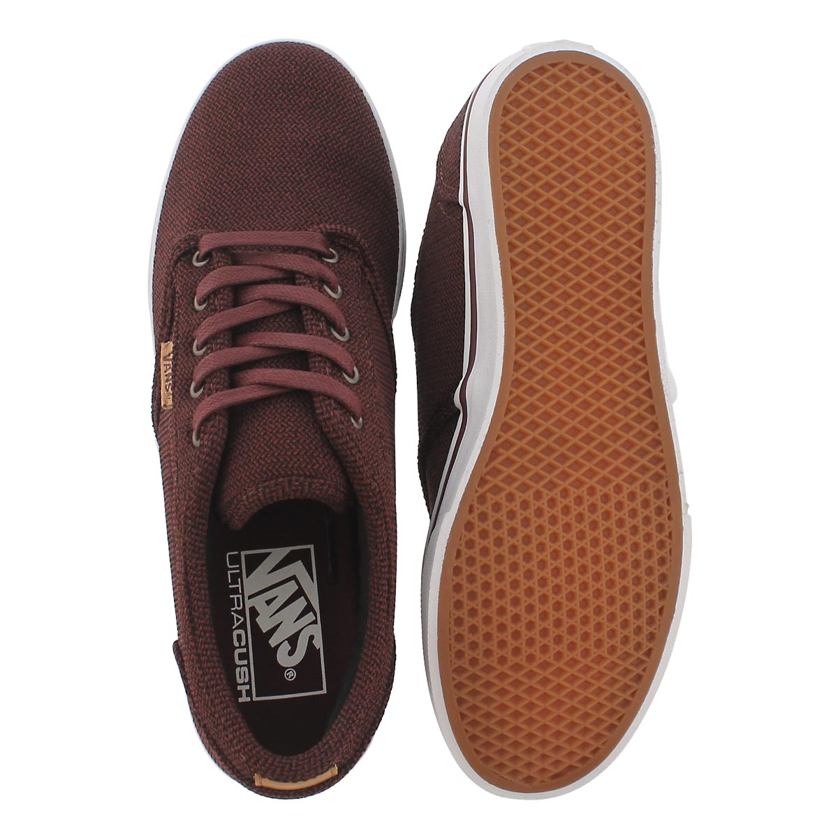 Lds Atwood Low DX burg lace up sneaker