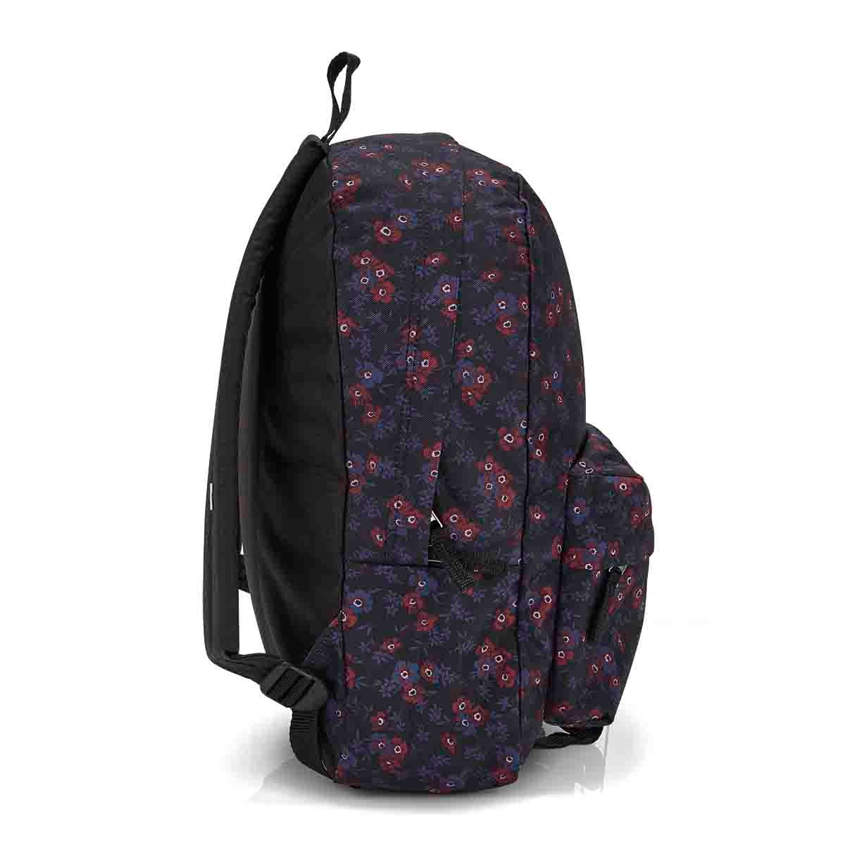 Vans Realm Classic black blooms backpack