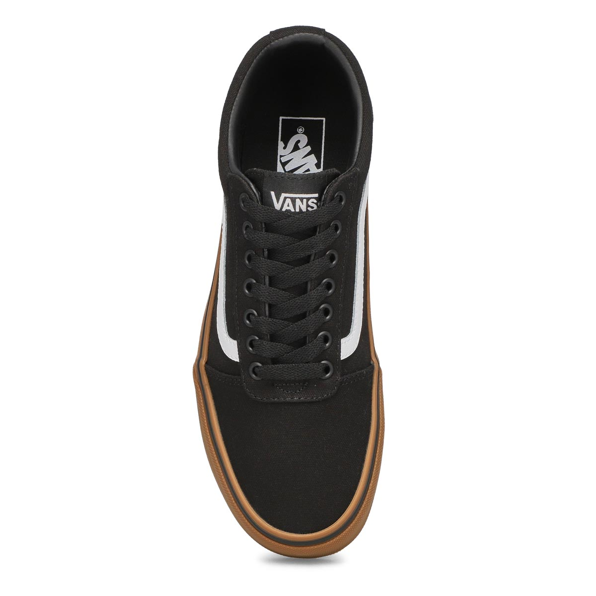 Mns Ward blk/gum lace up sneaker