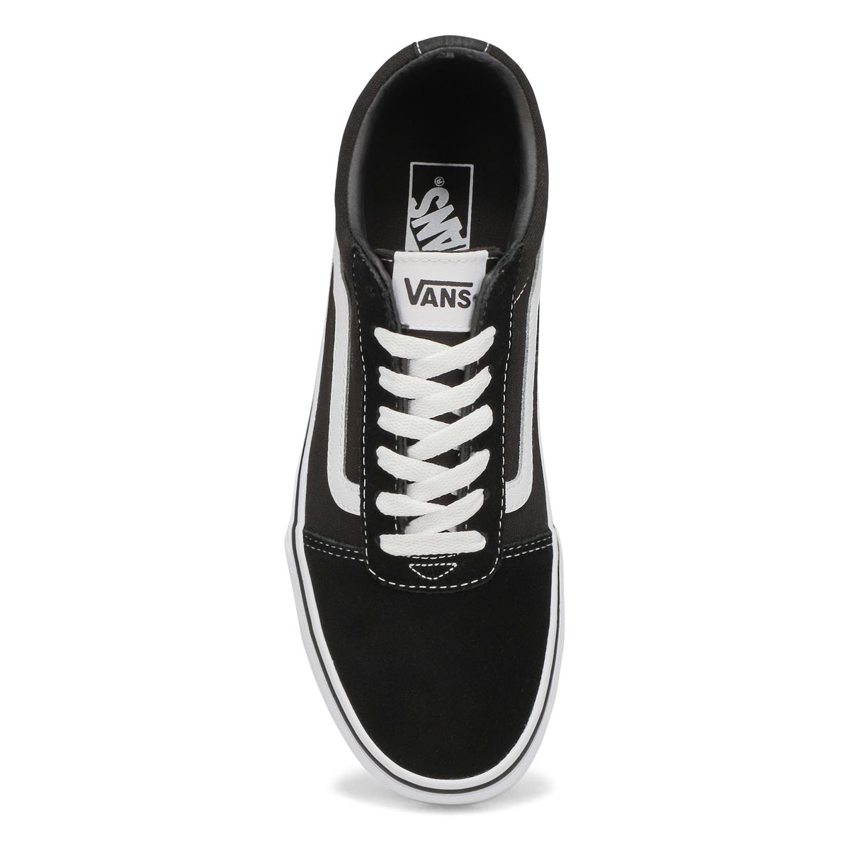 Mns Ward blk/wht lace up sneaker