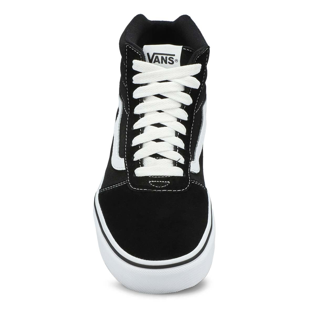 Mns Ward Hi blk/wht lace up sneaker