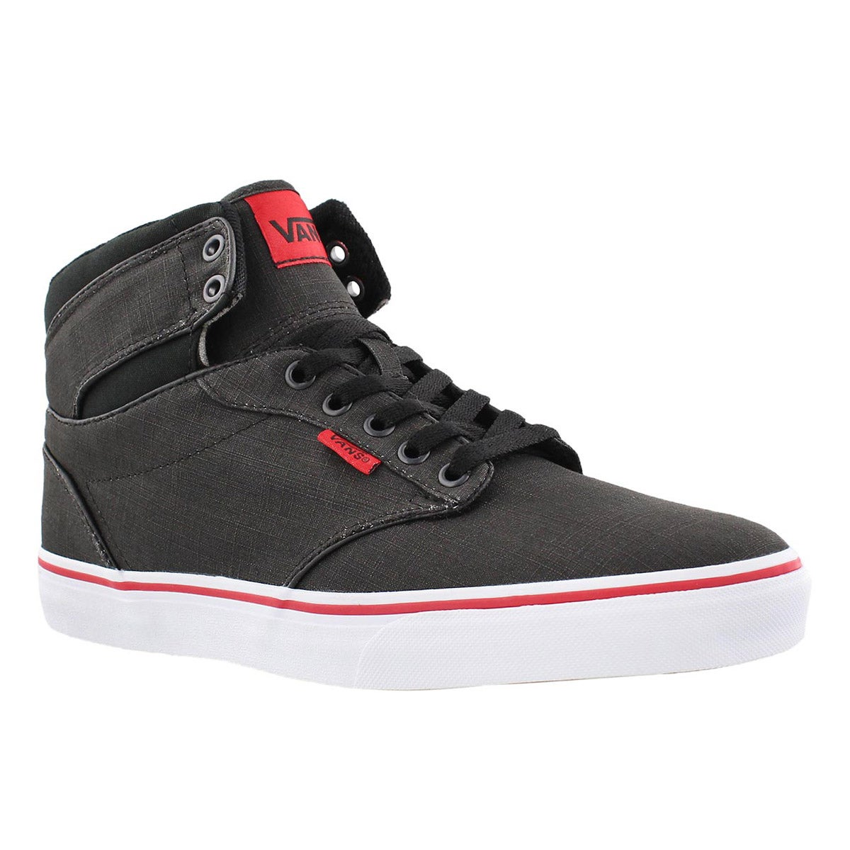 Men's ATWOOD HI black/red sneakers