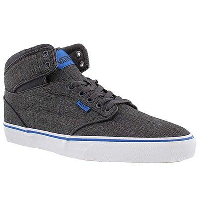 Mns Atwood Hi grey/blue sneaker