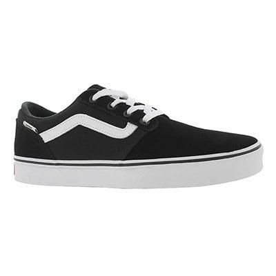 Vans Men's CHAPMAN STRIPE black/white sneakers
