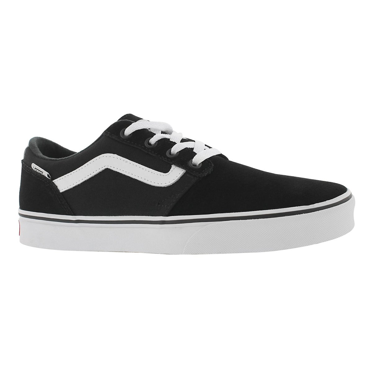 Men's CHAPMAN STRIPE black/white sneakers