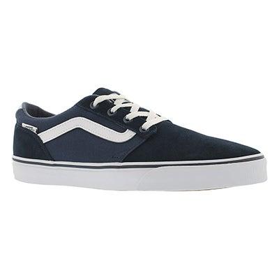 Vans Men's CHAPMAN STRIPE blue/white sneakers