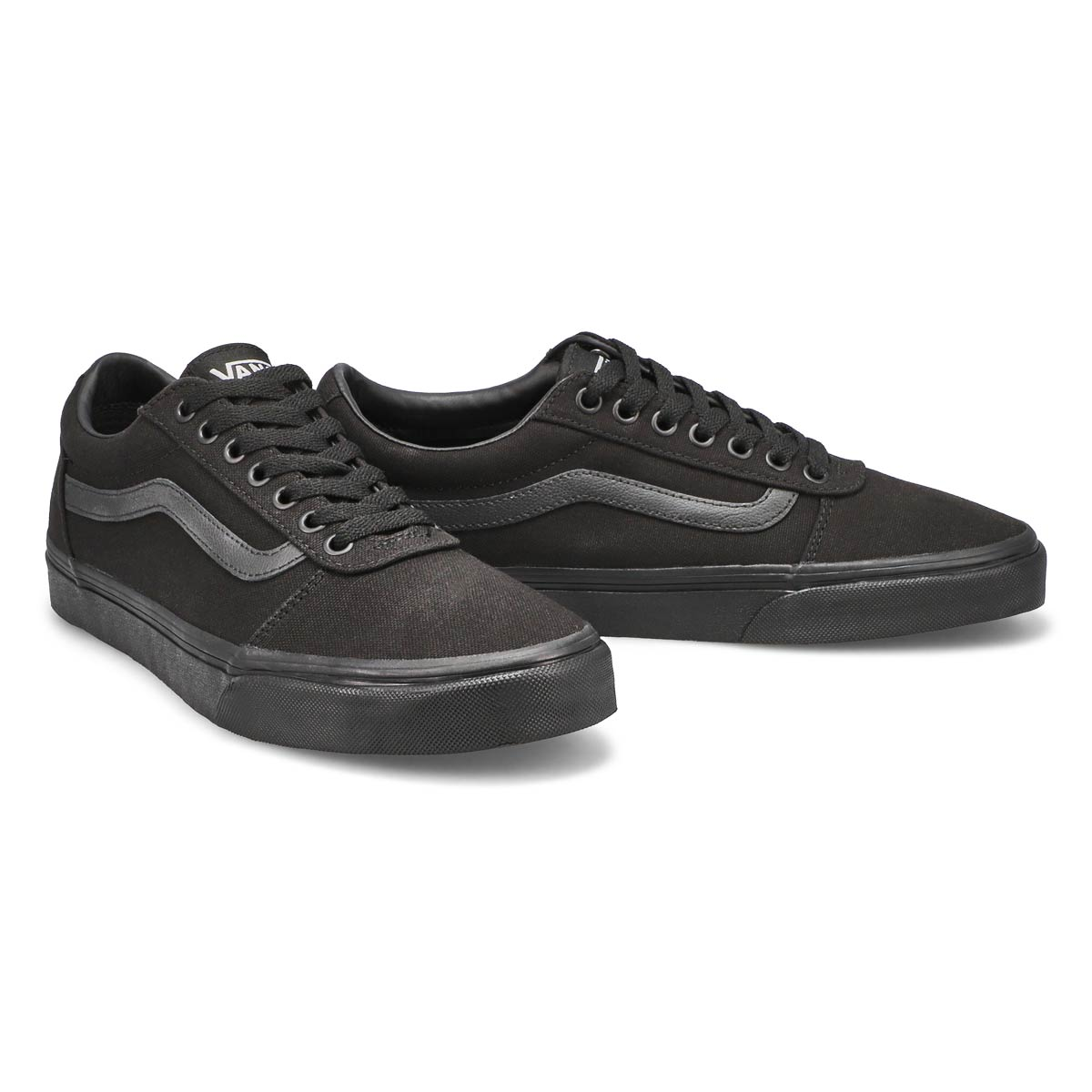 Mns Ward blk/blk lace up sneaker
