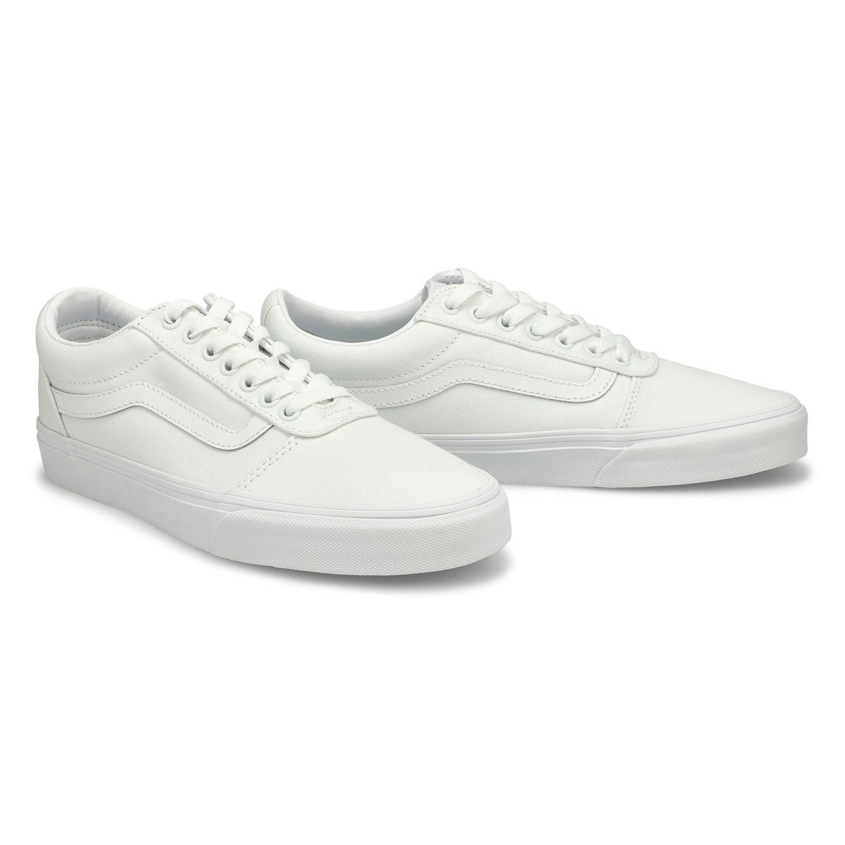Mns Ward wht/wht lace up sneaker