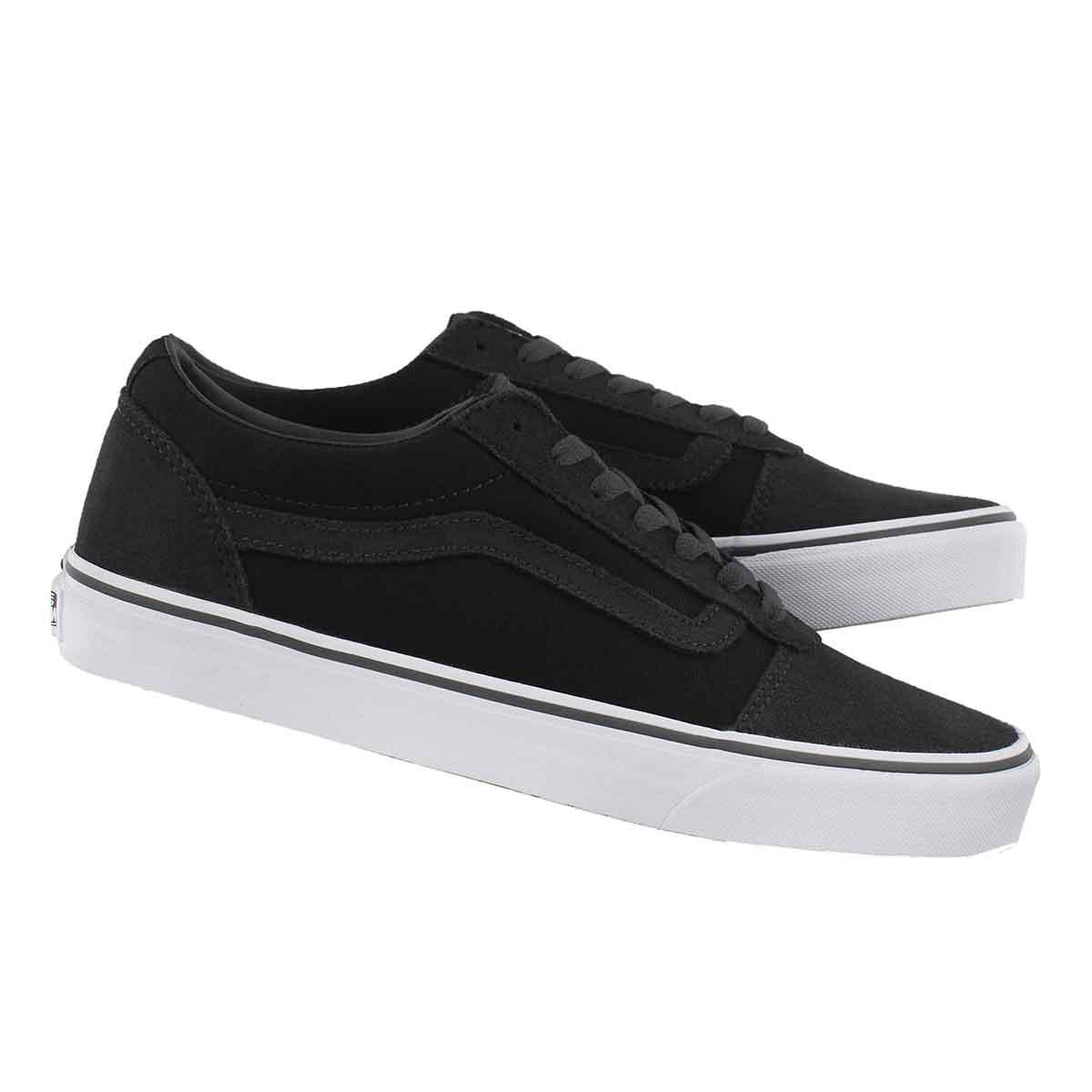 Mns Ward blk/asphalt lace up sneaker