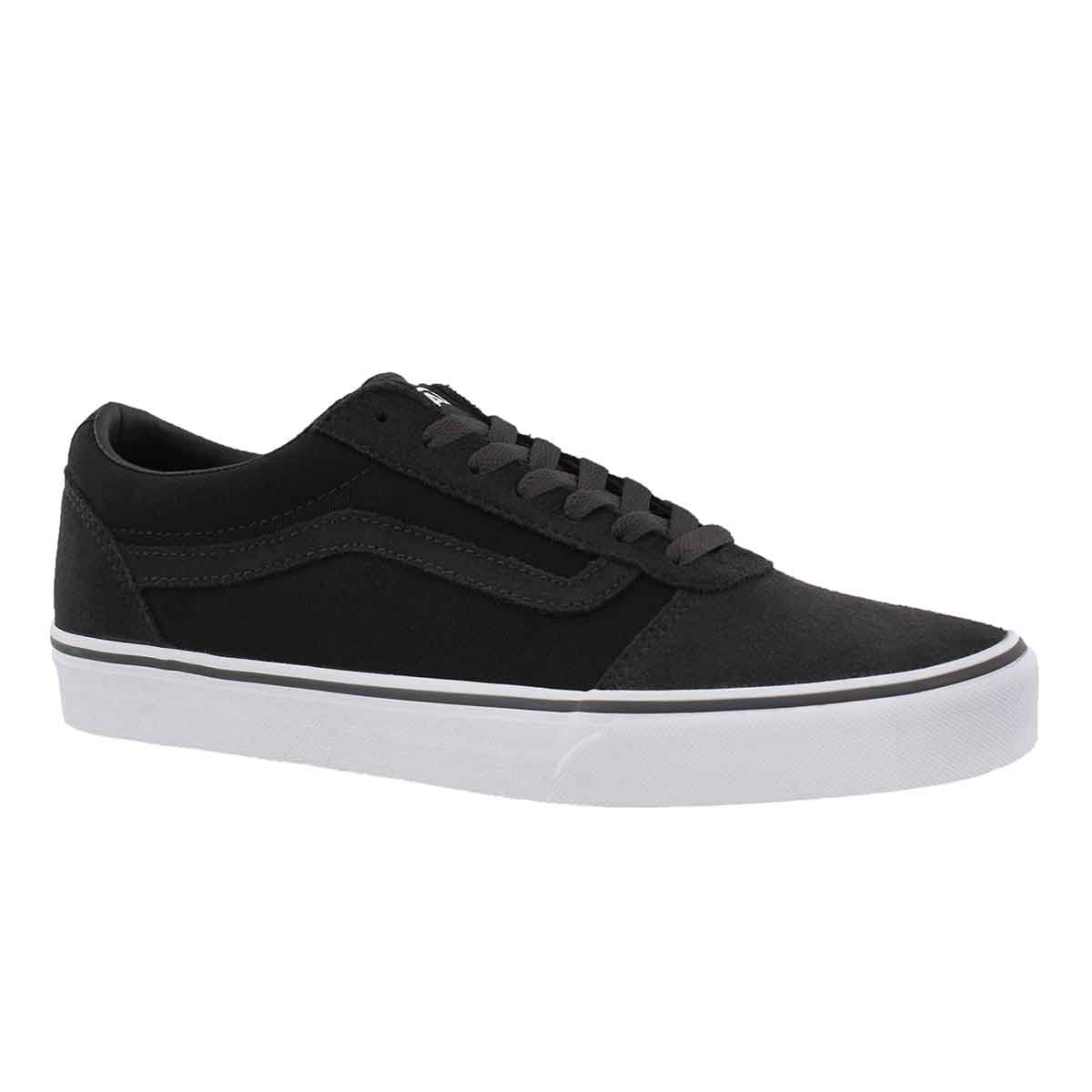 Men's WARD blk/asphalt lace up sneakers