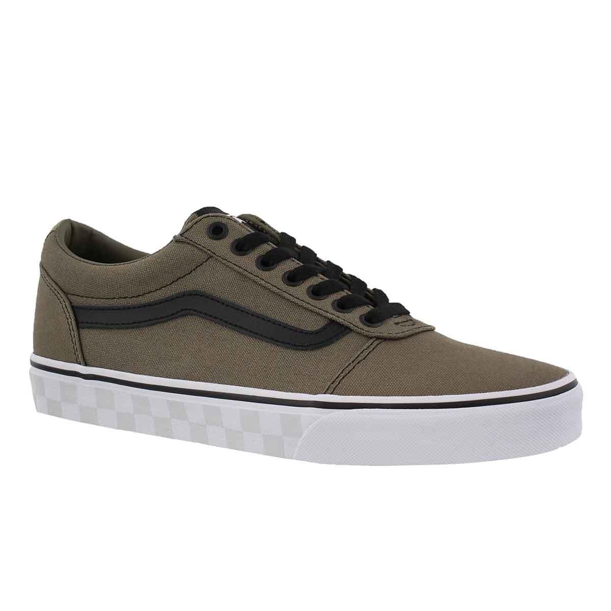 Men's WARD dusky grn/wht lace up sneakers