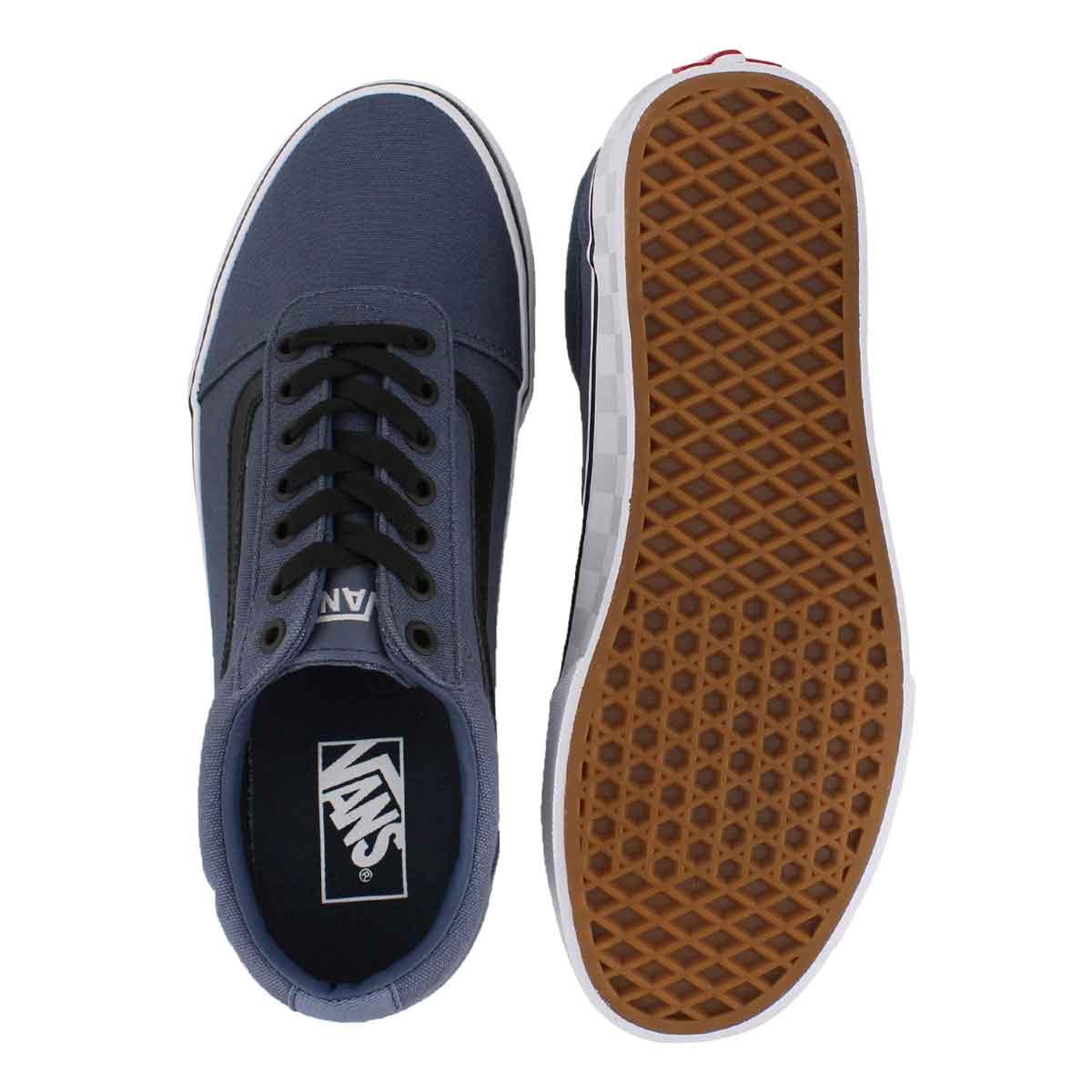 Mns Ward vntg indigo/wht lace up sneaker