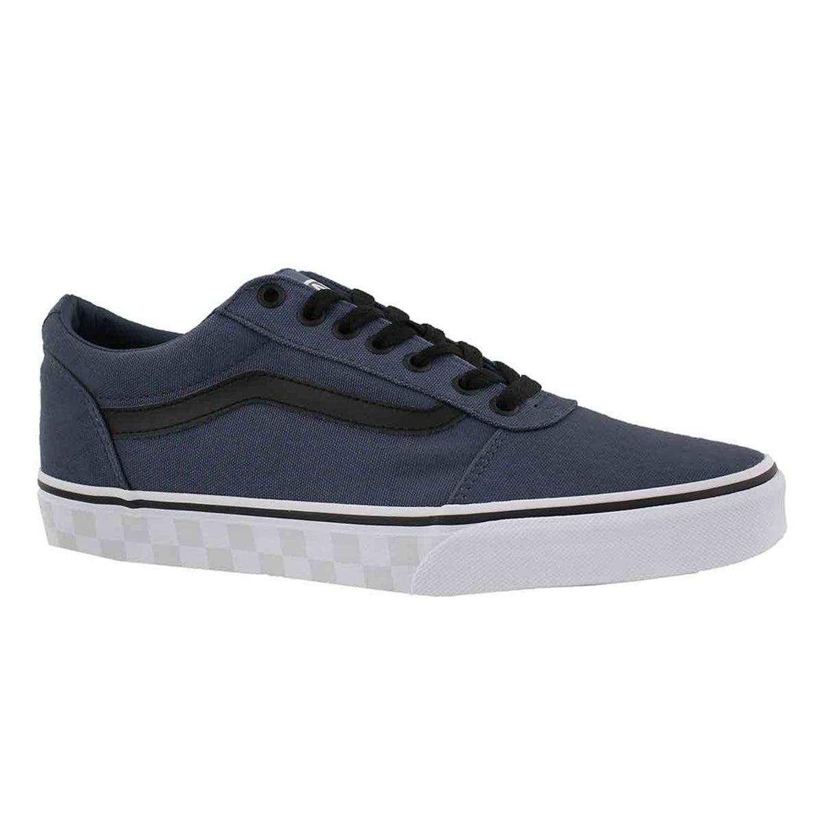Men's WARD vIntage indigo/wht lace up sneaker
