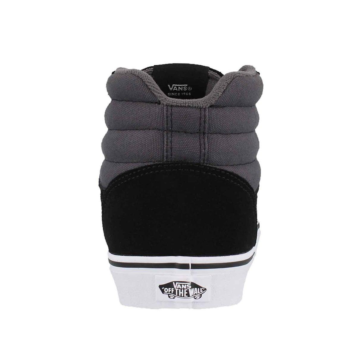 Mns Ward Hi blk/asphalt lace up sneaker