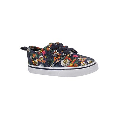 Infs-g Atwood Slip On space cat sneaker