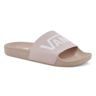 Lds Slide One sepia rose slide sandal