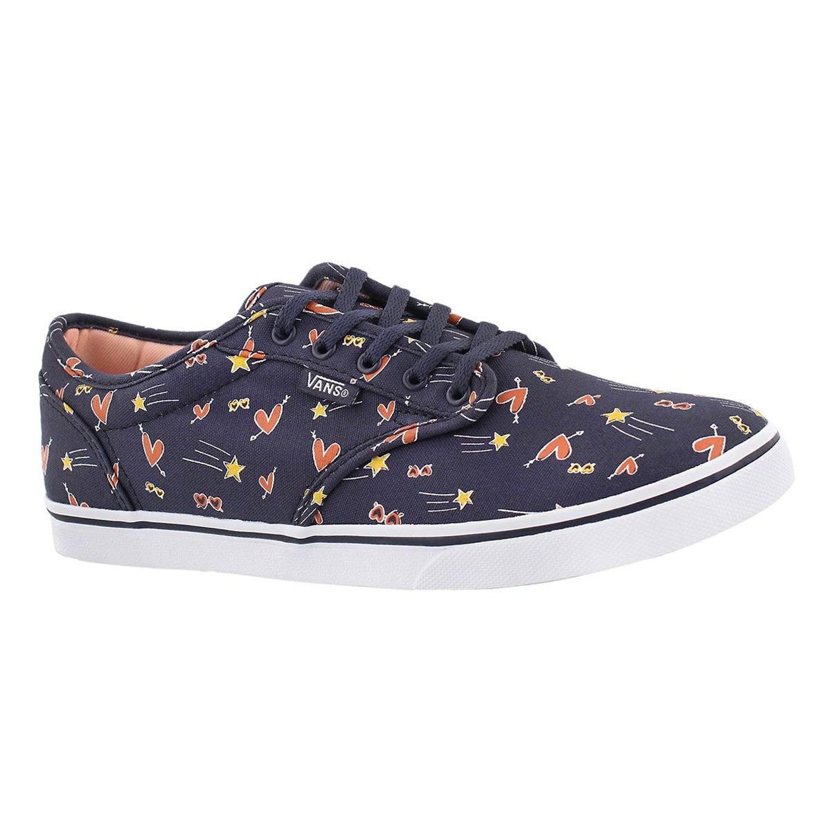 Women's ATWOOD LOW navy/multi lace up sneakers