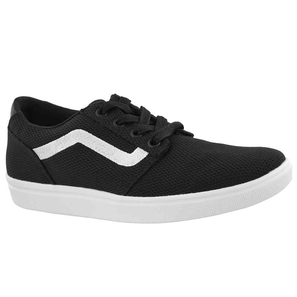 Women's CHAPMAN LITE black/white lace up sneakers