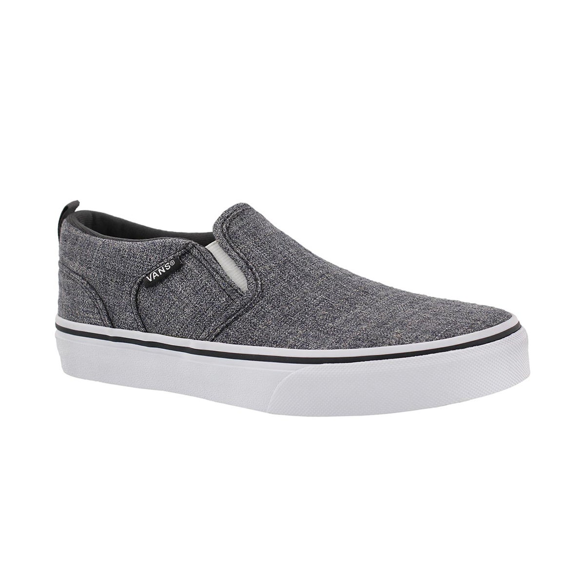 Boys' ASHER grey slip on sneakers