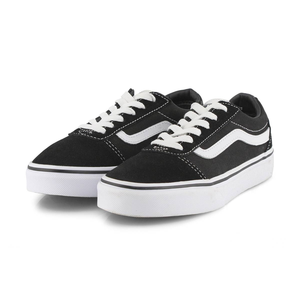 Bys Ward blk/wht lace up sneaker