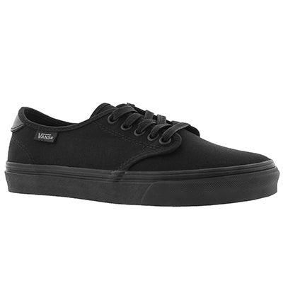 Lds Camden Deluxe blk/blk laceup sneaker