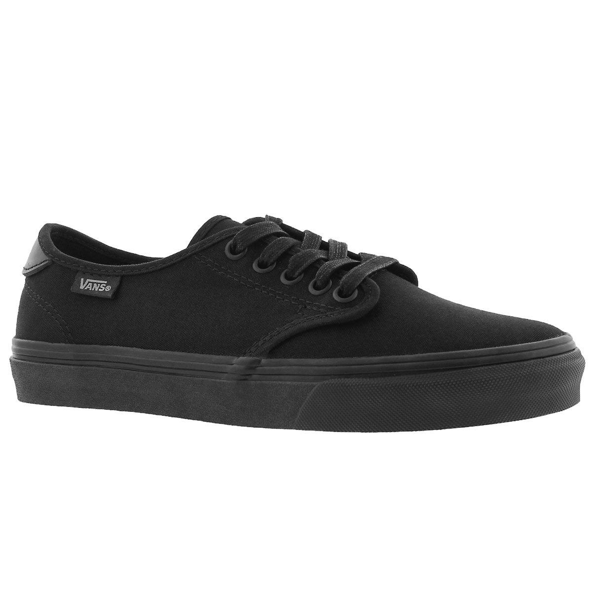 Women's CAMDEN DELUXE black/black laceup sneakers