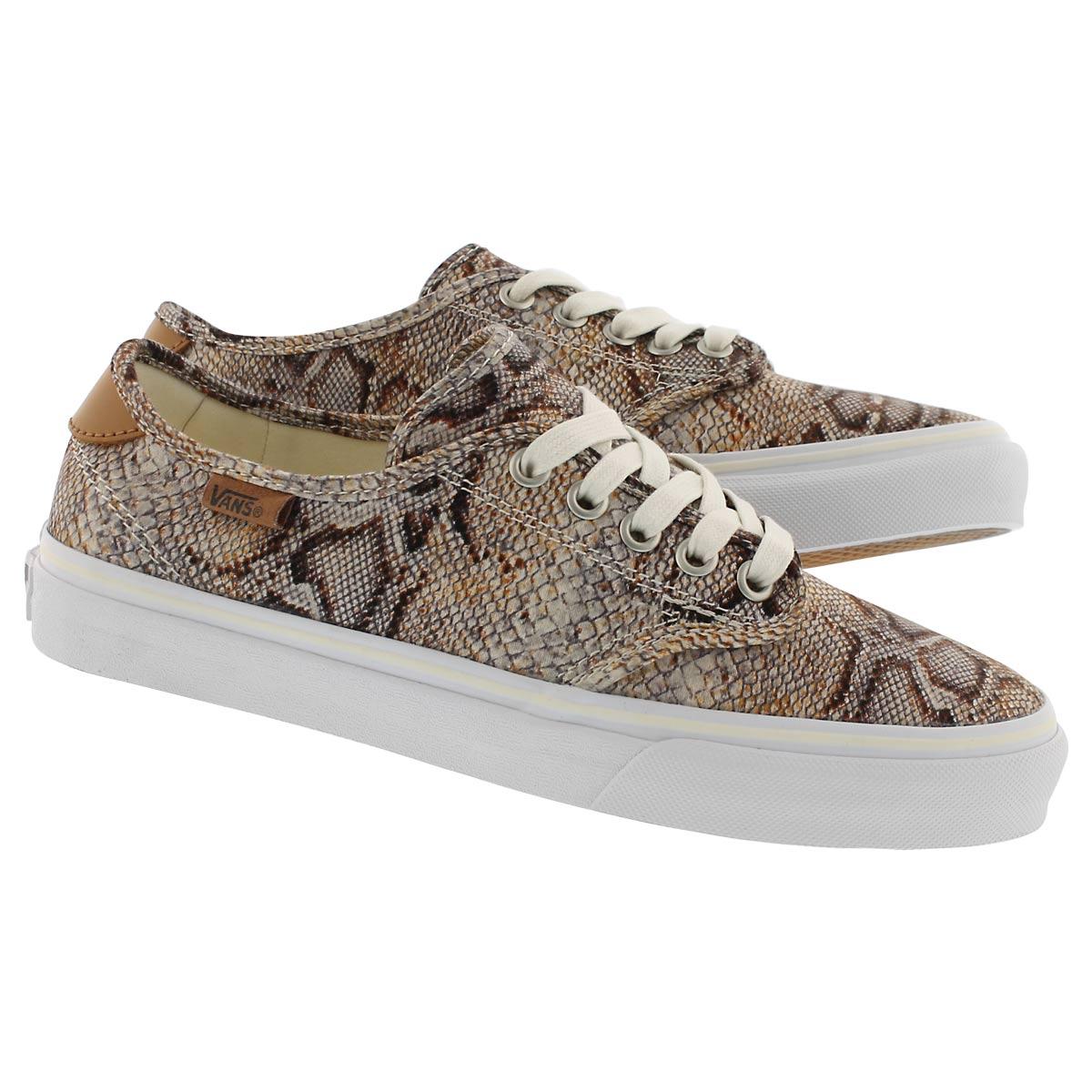 Lds Camden Deluxe snake laceup sneaker