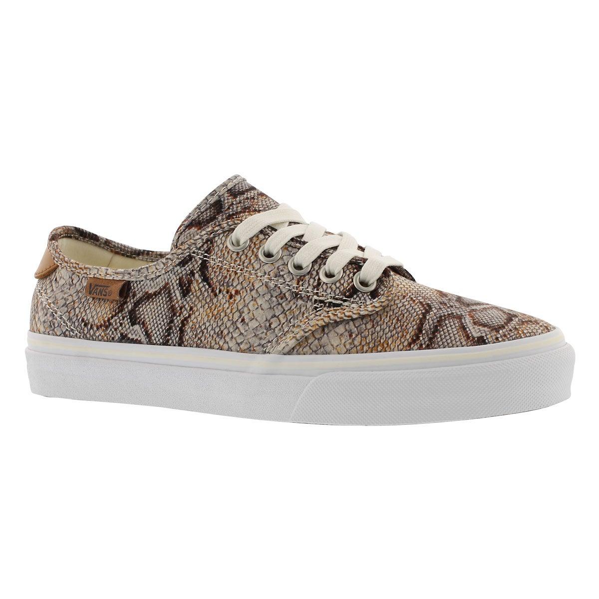Women's CAMDEN DELUXE snake laceup sneakers