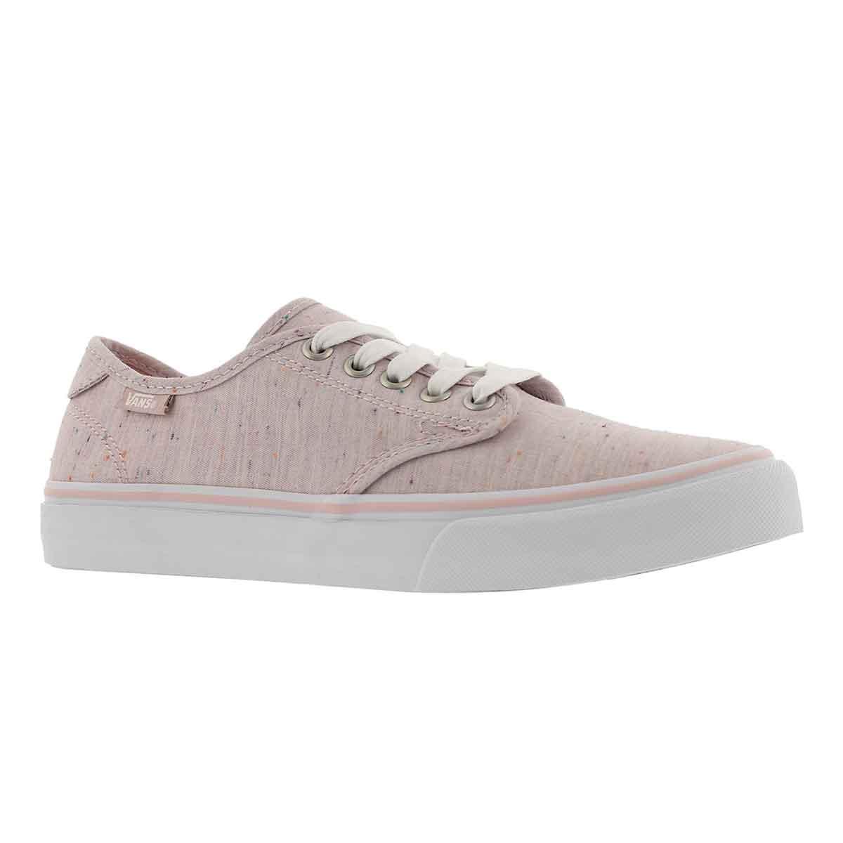 e4c8a127e7 Vans Women s CAMDEN DELUXE pink laceup sneake